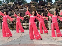 茉莉广场舞 《碎心石》 形体舞抒情优美 含背面动作分解教学