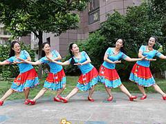 杨丽萍广场舞 《梦中的格桑花》 藏族舞 含背面动作分解教学