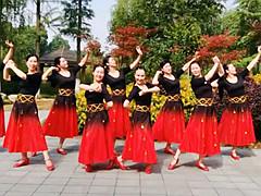 应子广场舞 《欢乐激情》 含背面动作分解教学