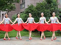 杨丽萍广场舞 《十指紧扣心相守》 原创民族舞 含背面动作分解教学