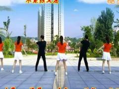 夫妻广场舞《为了你》团队版 32步大众健身舞含教学