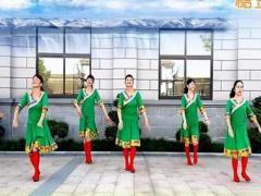 乔茜广场舞 我的香格里拉 原创藏族风格附教学