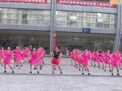 重庆叶子广场健身操 拉拉爱 正反面演示
