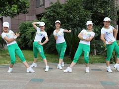 杨丽萍广场舞 第一套丽萍美体健身操 第四节 含教学