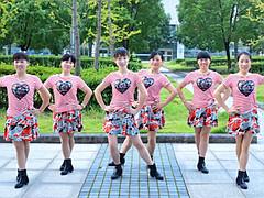 动动广场舞《中华全家福》新版 秧歌舞 含背面动作分解教学
