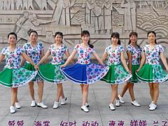动动广场舞 《新走天涯》 入门32步原创步子舞 含舞蹈教学