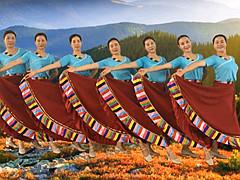 应子广场舞 《山歌的故乡》 含背面动作分解教学
