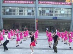 重庆叶子广场舞 布尔津情歌 原创水兵舞 附教学