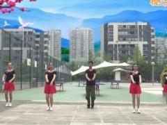 重庆叶子广场舞 红梅赞 水兵舞 附教学