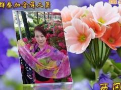 盛泽雨夜广场舞 相逢是首歌 18人异地舞友 合屏制作:如月