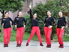 杨丽萍广场舞 《猎爱》 恰恰舞 含背面动作分解教学