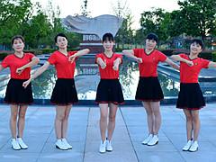 动动广场舞 《百家姓》 正能量步子舞 含教学