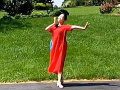 应子广场舞 《我和我的祖国》 含背面动作分解教学
