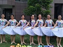 杨丽萍广场舞 《山水恋情》 原创民族舞 含背面动作分解教学