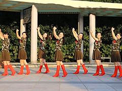 茉莉广场舞 《草原情缘》 原创入门步子舞含教学