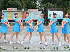 动动广场舞 《我最想去的地方是你的心里》 自由舞步含教学