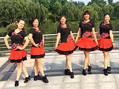 青儿广场舞 《预约》 32步 自由步子舞 初级入门教学版
