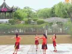 苏州雨夜广场舞 《月朦胧鸟朦胧》 圆圈舞原创 附教学