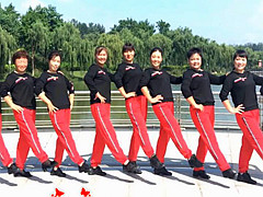 青儿广场舞《卡蒙加油》 原创健身舞