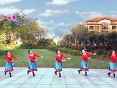 苏州盛泽雨夜广场舞《蓝色天梦》原创附教学