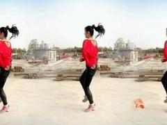 阿采广场舞 情路弯弯 简单32步子舞 有教学背面