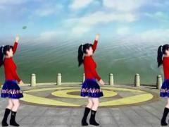太湖一莲广场舞 水蓝蓝 原创32步 水兵舞风格教学