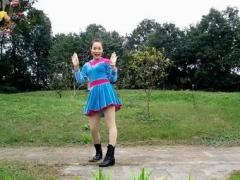 映容雪广场舞 火火的爱 原创健身舞 附教学