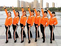 青儿广场舞 《相约白鱼湾》 原创健身舞含教学