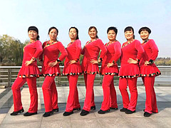 青儿广场舞 《橘子姑娘》 原创大众健身舞