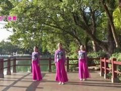 苏州盛泽雨夜广场舞《最真的梦》原创附教学