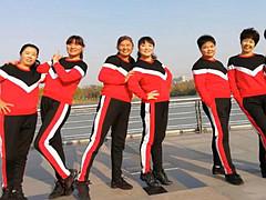 青儿广场舞 《心惊肉跳》 原创全民健身舞