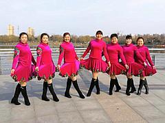 青儿广场舞 《伤心天涯人》 原创大众健身舞