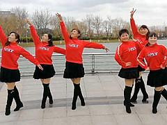 青儿广场舞 《为爱远航》 全民健身舞