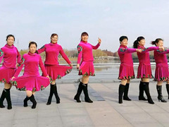 青儿广场舞 《戒不掉的习惯》 原创大众健身舞
