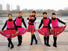 青儿广场舞 《思念的牢》 原创DJ大众健身舞