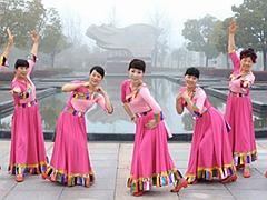 动动香港 水边的格桑梅朵 藏话舞风格 原创含教学