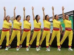 杨丽萍原创香港 第二套丽萍美体健身操 第一节