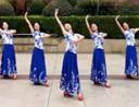 応子广场舞 桃花依旧 简单古典舞 含教学 分解动作 mp4