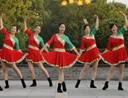 茉莉广场舞 平安是福 藏族舞 含动作分解教学 分解动作 mp4