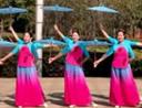 春英广场舞 一湖清水 伞舞队形 含教学 分解动作 mp4
