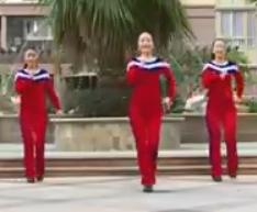 杨丽萍广场舞 爱情天堂DJ 含分解教学 分解动作 mp4