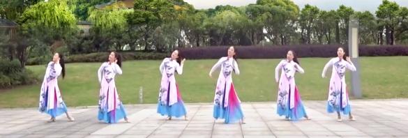 雨夜广场舞 好好爱一回 原创藏族舞 含教学 分解动作 mp4