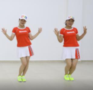 杨丽萍广场舞 不爱就滚开 含分解教学 分解动作 mp4