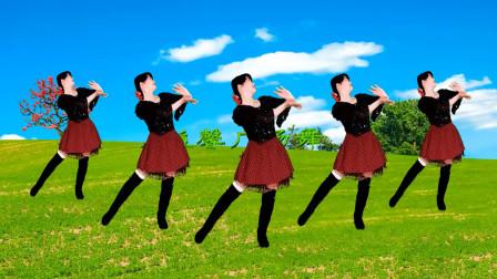 益馨广场舞 健身舞 你像三月桃花开 桃花开 舞起来