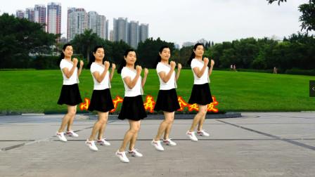 小慧广场舞 全是爱 网红时尚弹跳步子舞64步 动感十足附教学