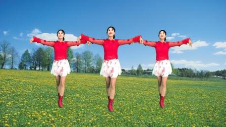 阿采原创广场舞 最新摆胯32步教学 灰姑娘 活泼俏皮 简单动感