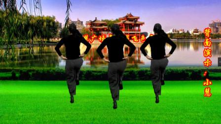 小慧广场舞 眉飞色舞 充满青春气息的活力时尚健身舞 可受欢迎