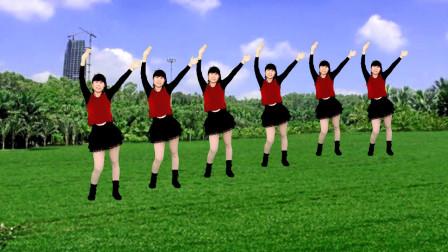 广场舞 最炫民族风 歌声大气豪迈 简单又好看
