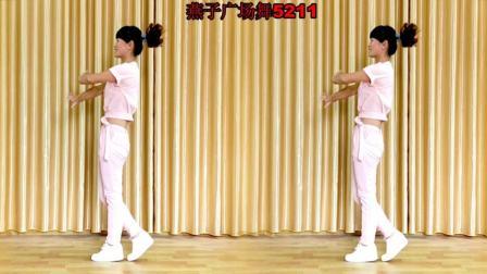 燕子广场舞5211 相思渡口DJ 编舞 杨丽萍 瘦腰健身操 简单好看