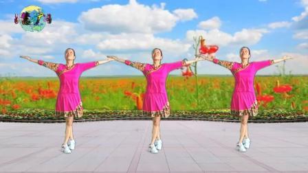 初级入门现代舞 火红的萨日朗 32步 舞姿优美轻盈优雅大气易学